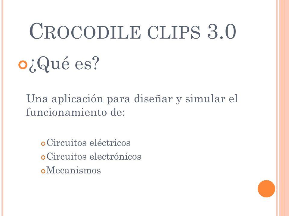 Crocodile clips 3.0 ¿Qué es