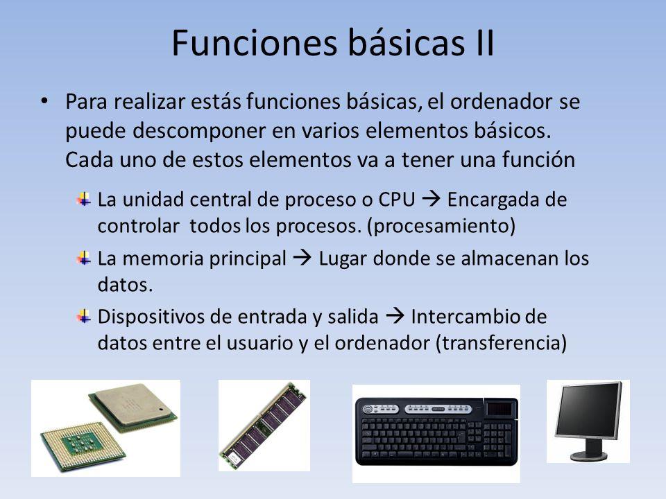 Funciones básicas II