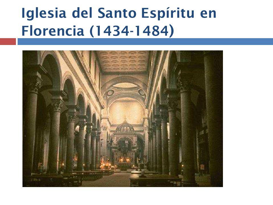 Iglesia del Santo Espíritu en Florencia (1434-1484)