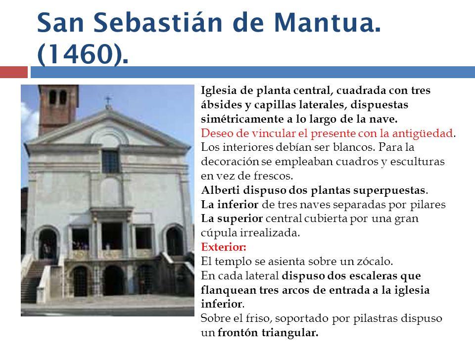 San Sebastián de Mantua. (1460).