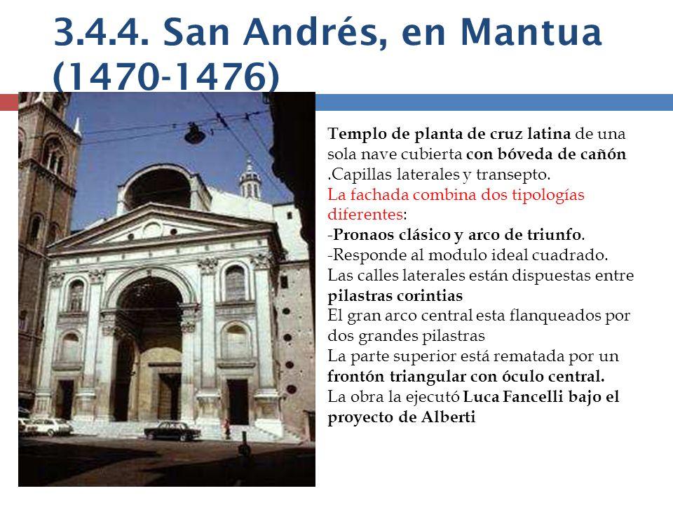 3.4.4. San Andrés, en Mantua (1470-1476)