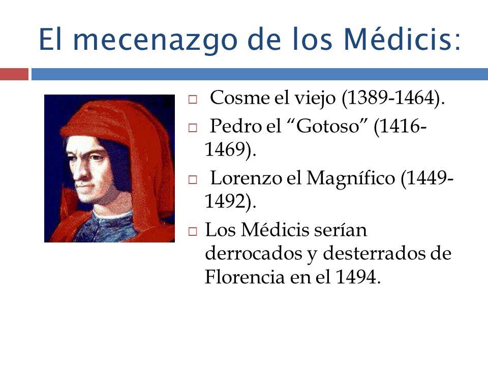 El mecenazgo de los Médicis: