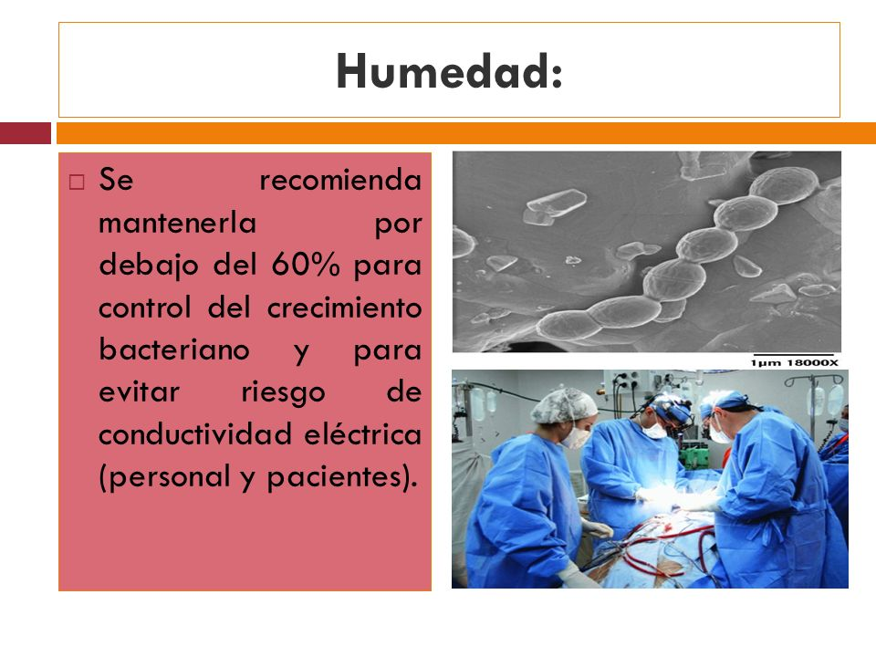 Humedad: