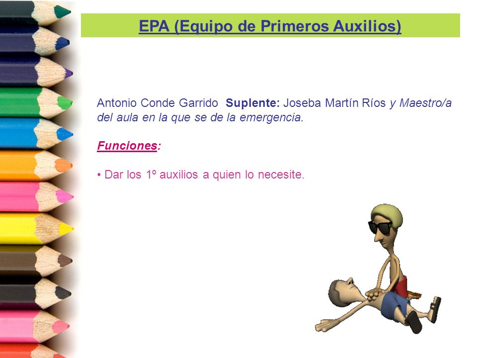 EPA (Equipo de Primeros Auxilios)