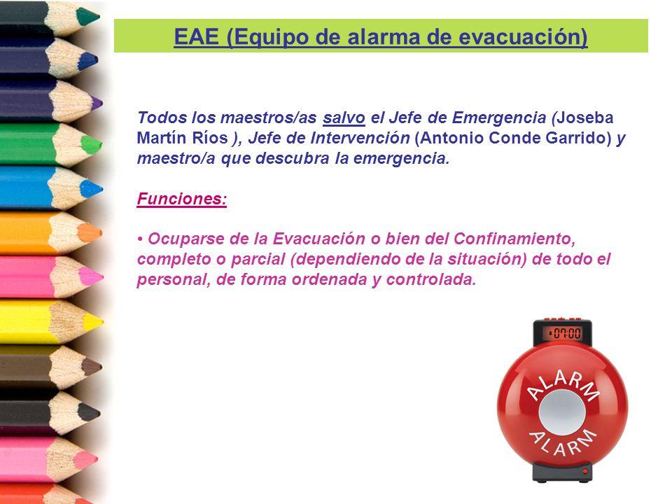 EAE (Equipo de alarma de evacuación)