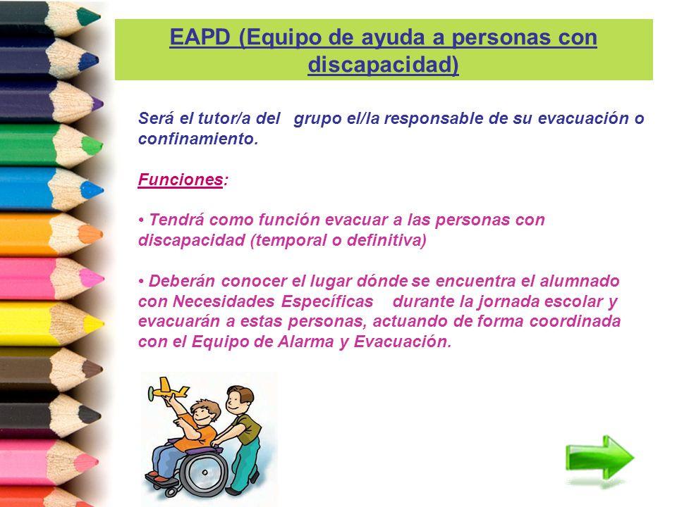 EAPD (Equipo de ayuda a personas con discapacidad)