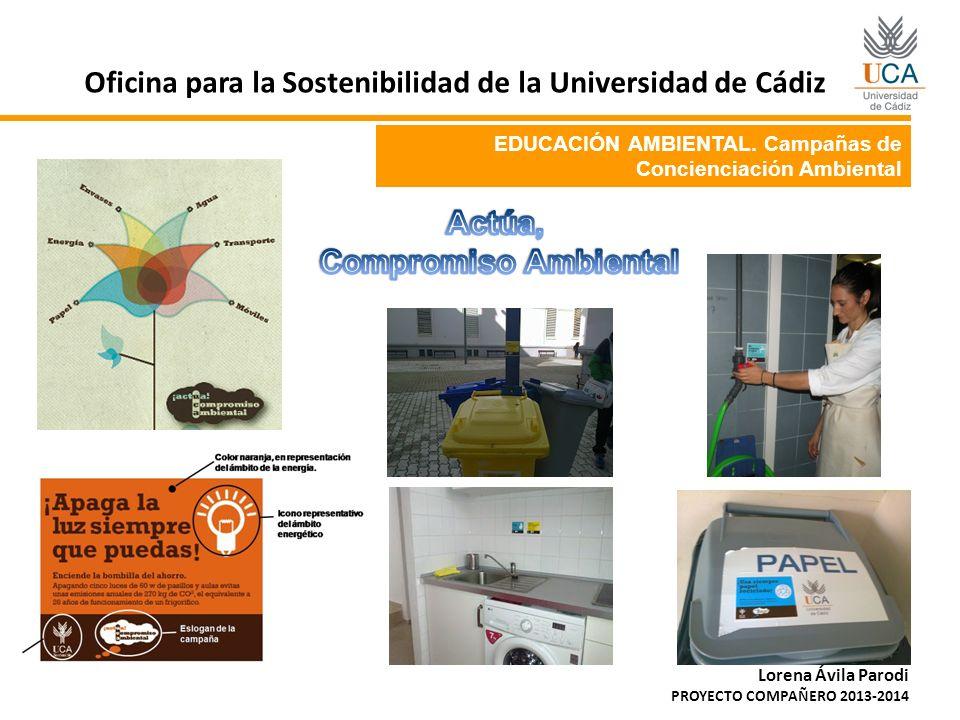Proyecto compa ero oficina para la sostenibilidad ppt for Oficina de empleo cadiz