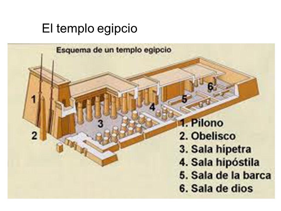 El templo egipcio