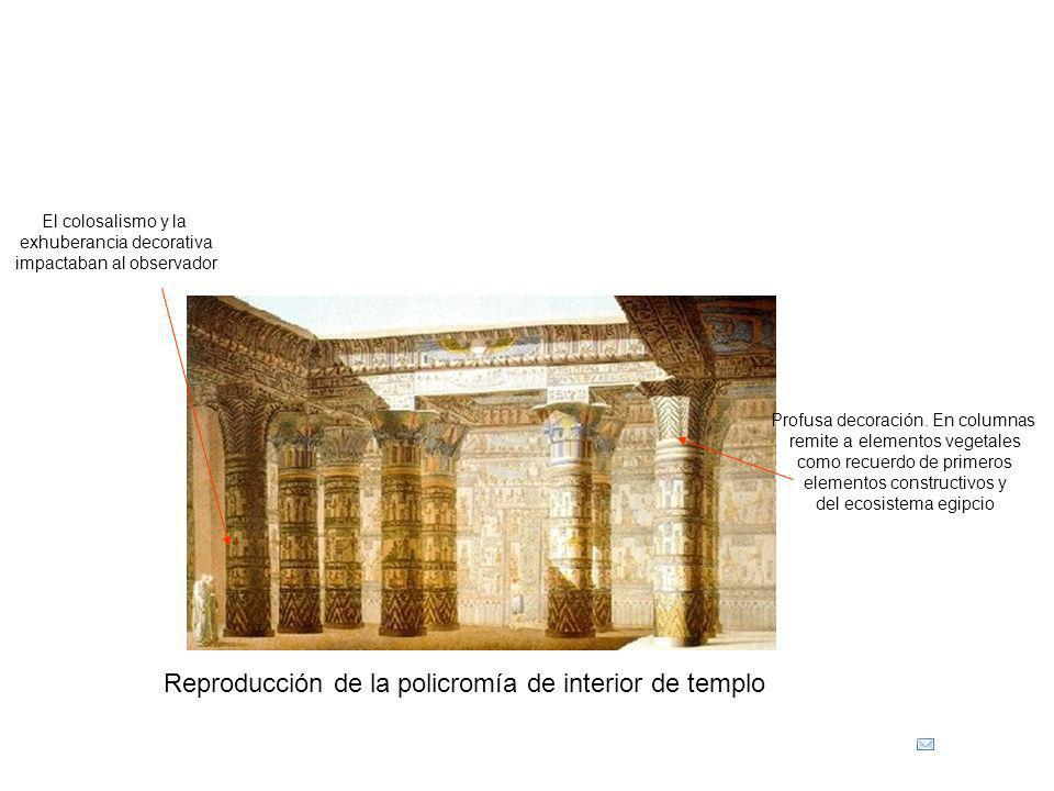 Reproducción de la policromía de interior de templo