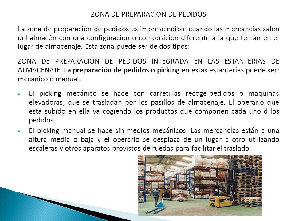 ZONA DE PREPARACION DE PEDIDOS