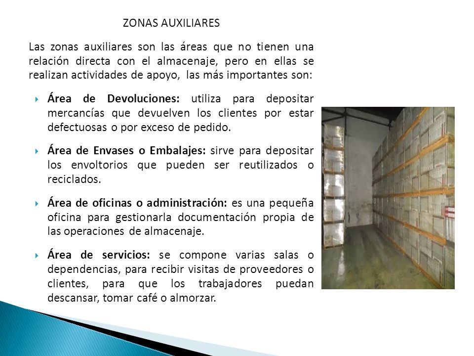 ZONAS AUXILIARES