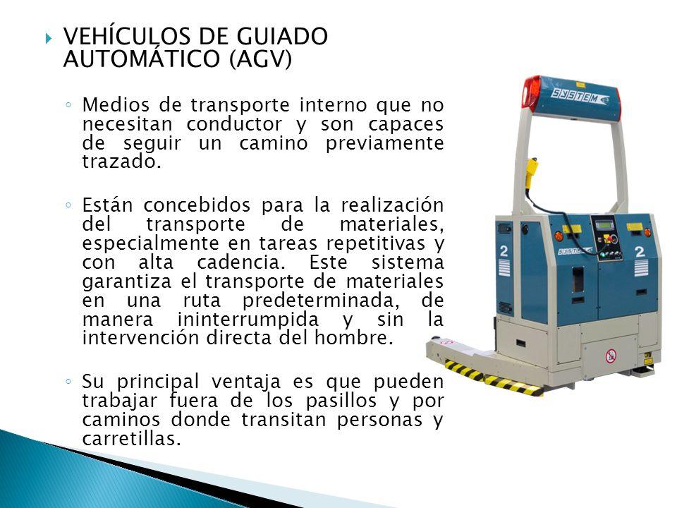 VEHÍCULOS DE GUIADO AUTOMÁTICO (AGV)