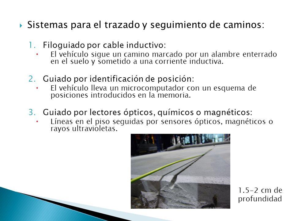 Sistemas para el trazado y seguimiento de caminos: