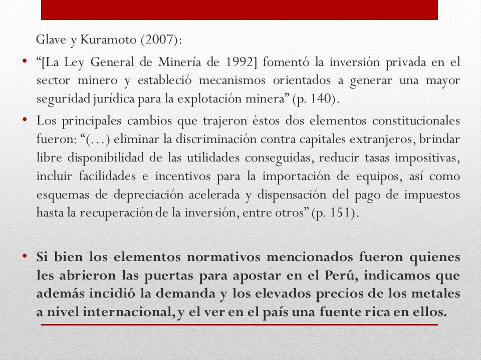 Glave y Kuramoto (2007):