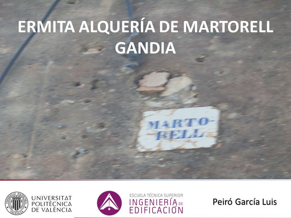 ERMITA ALQUERÍA DE MARTORELL GANDIA