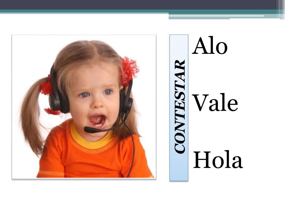 Alo Vale Hola CONTESTAR