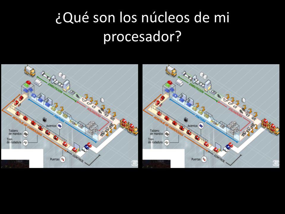¿Qué son los núcleos de mi procesador