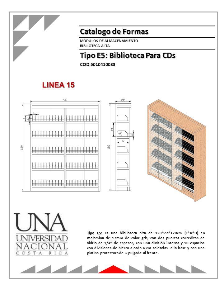 Tipo E5: Biblioteca Para CDs