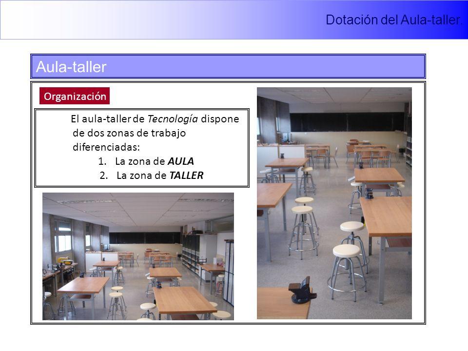Aula-taller Dotación del Aula-taller. Organización