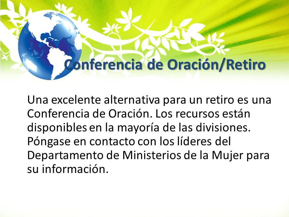 Conferencia de Oración/Retiro