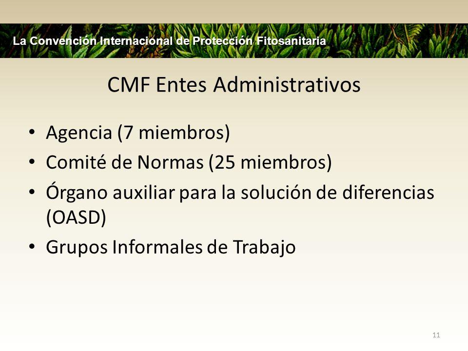 CMF Entes Administrativos