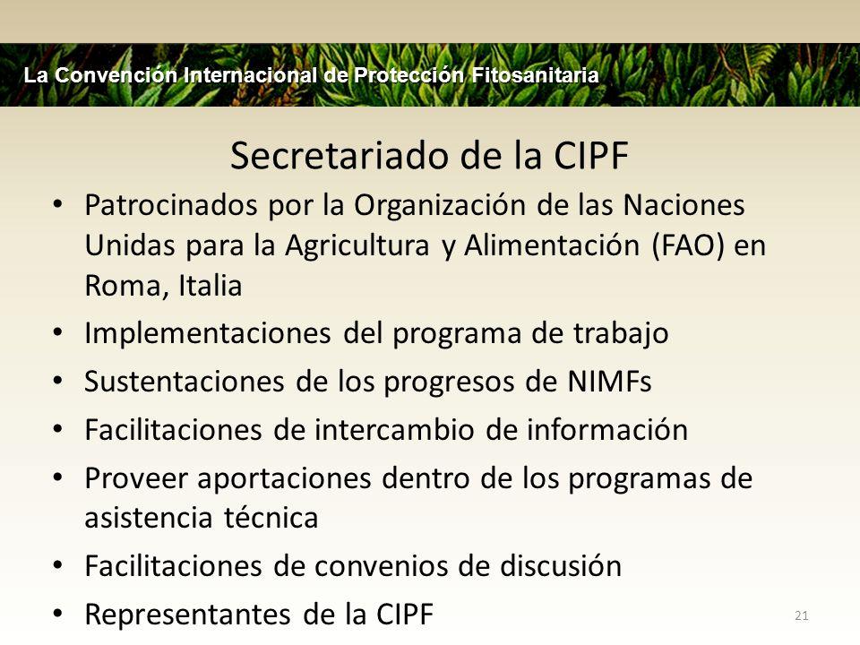 Secretariado de la CIPF
