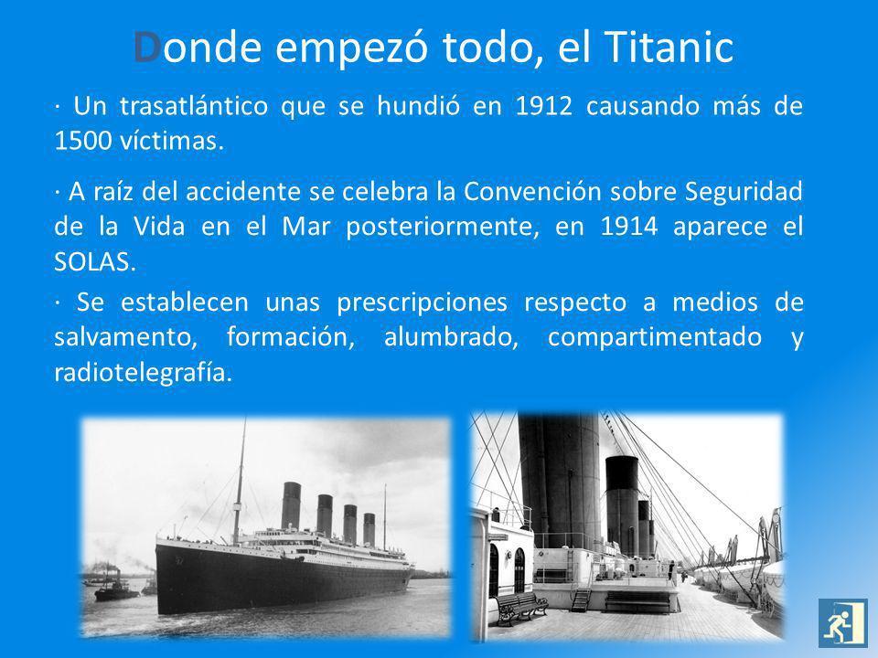 Donde empezó todo, el Titanic