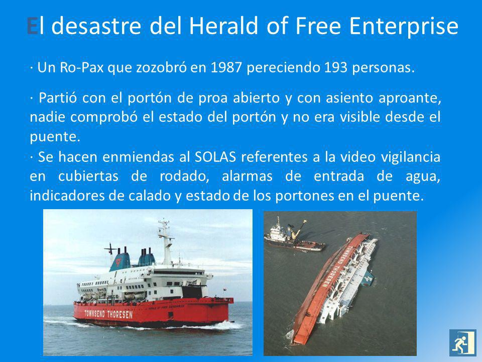 El desastre del Herald of Free Enterprise