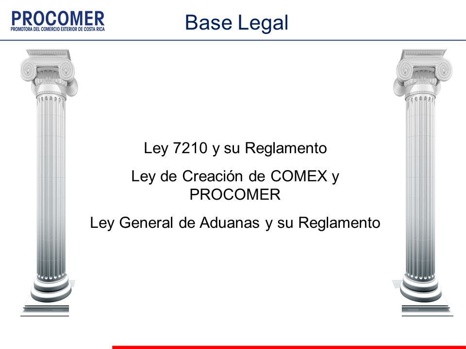 Base Legal Ley 7210 y su Reglamento