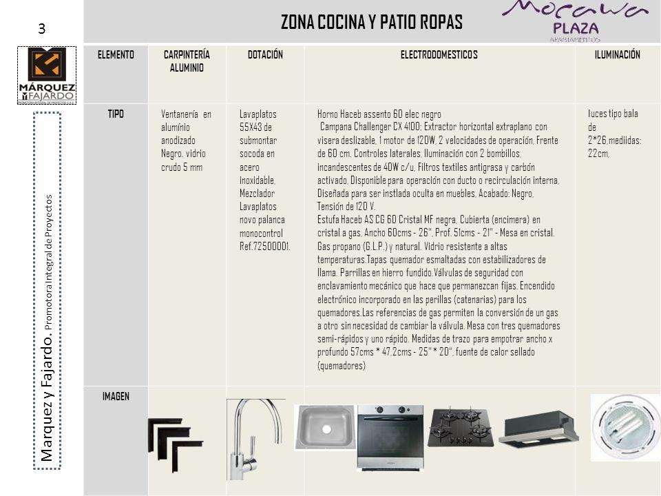 ZONA COCINA Y PATIO ROPAS