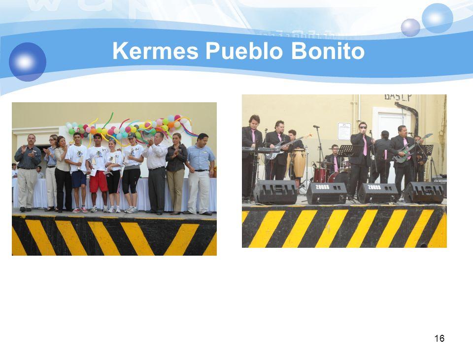 Kermes Pueblo Bonito