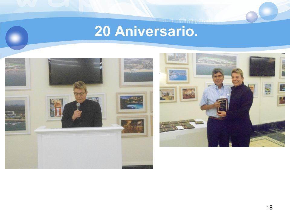 20 Aniversario.