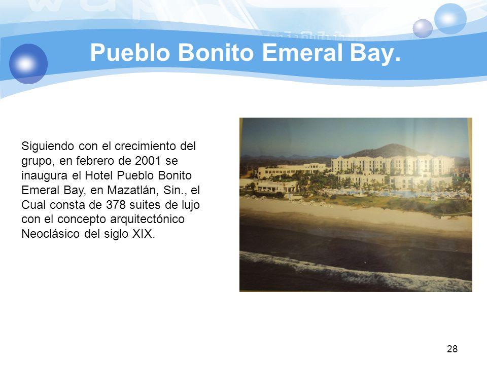 Pueblo Bonito Emeral Bay.