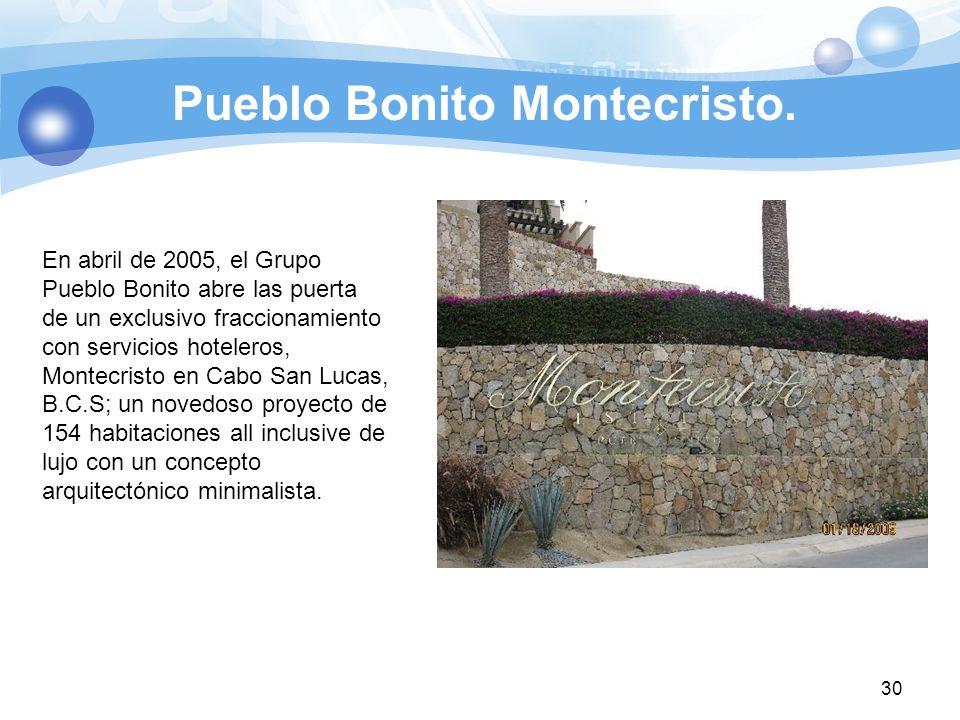 Pueblo Bonito Montecristo.