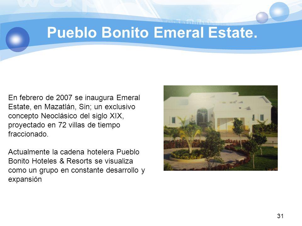Pueblo Bonito Emeral Estate.