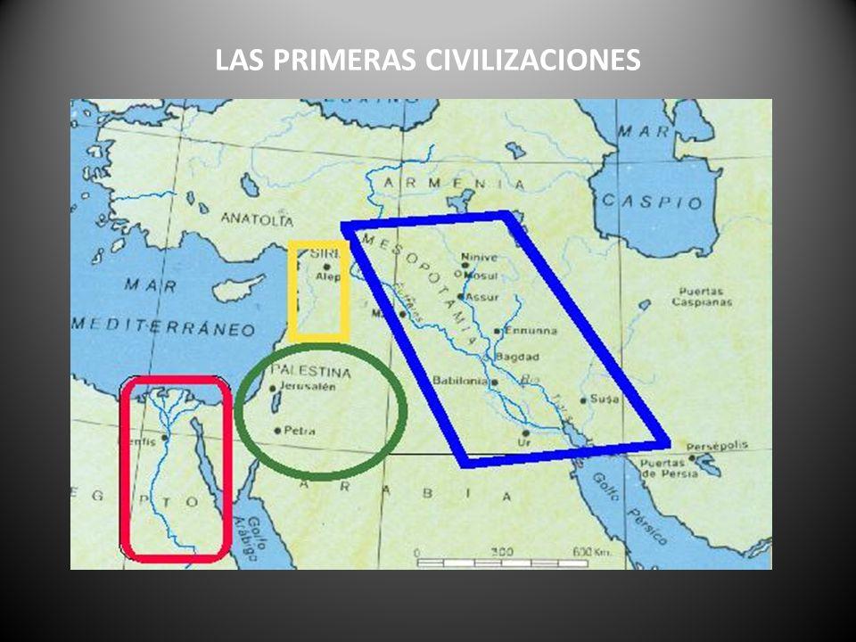 LAS PRIMERAS CIVILIZACIONES
