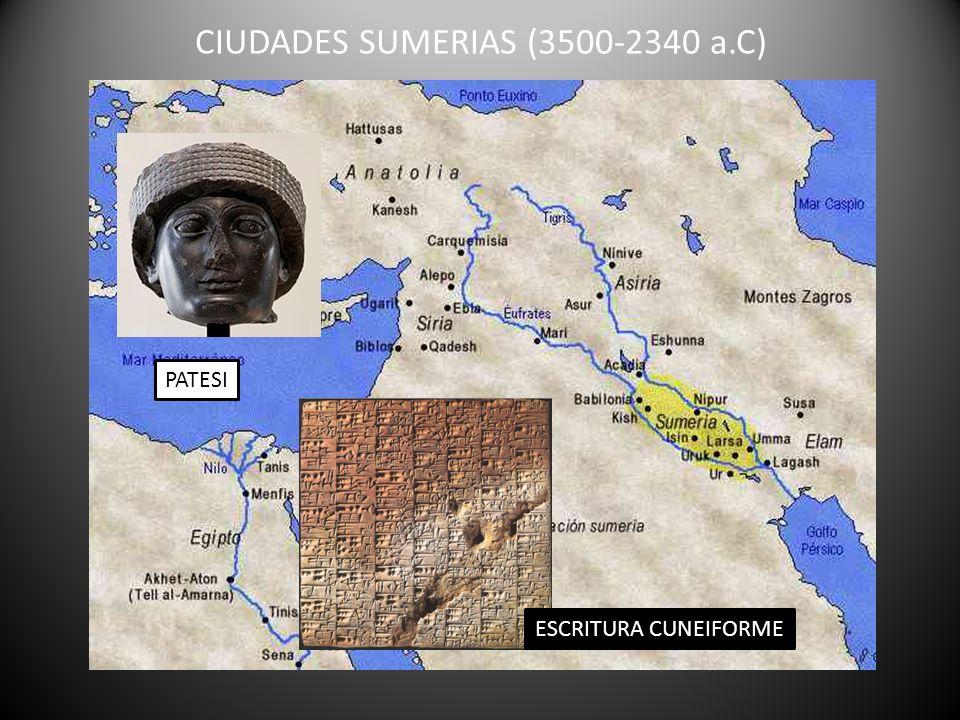 CIUDADES SUMERIAS (3500-2340 a.C)