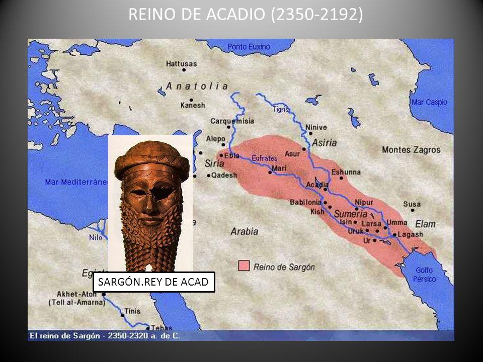 REINO DE ACADIO (2350-2192) SARGÓN.REY DE ACAD