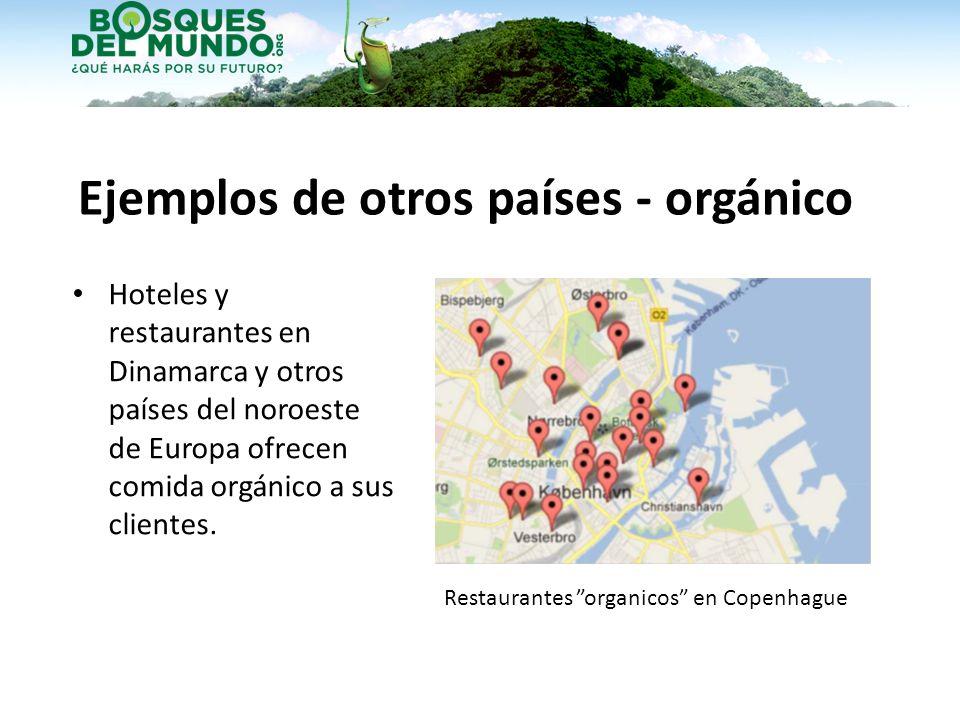 Ejemplos de otros países - orgánico