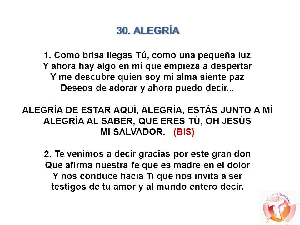 30. ALEGRÍA 1.