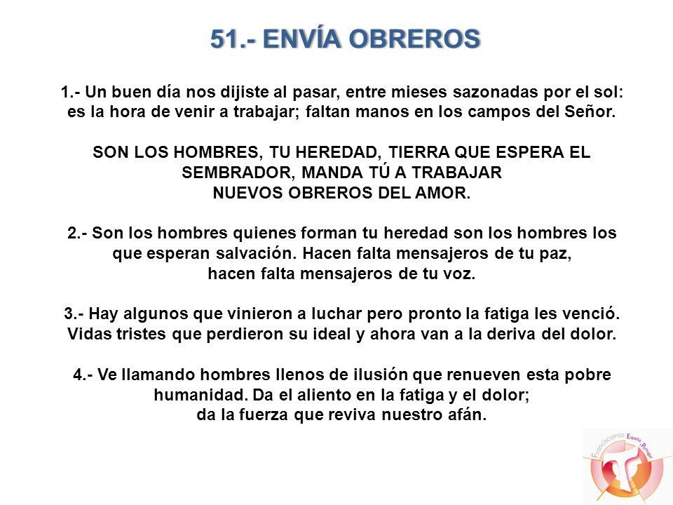 51.- ENVÍA OBREROS