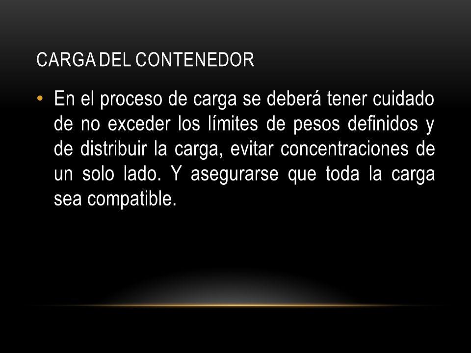 Carga del Contenedor