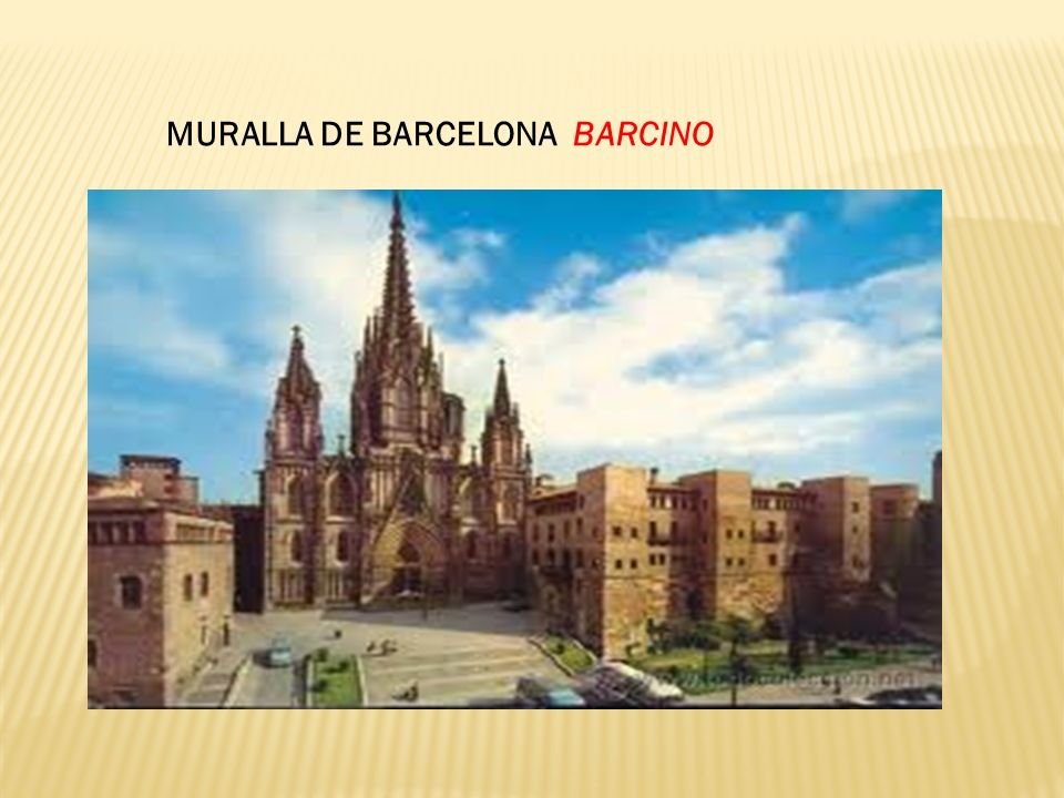 MURALLA DE BARCELONA BARCINO