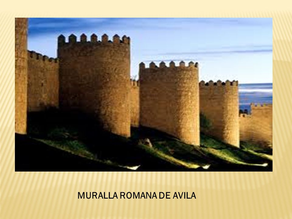 MURALLA ROMANA DE AVILA