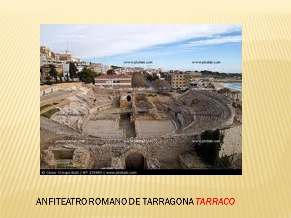 ANFITEATRO ROMANO DE TARRAGONA TARRACO