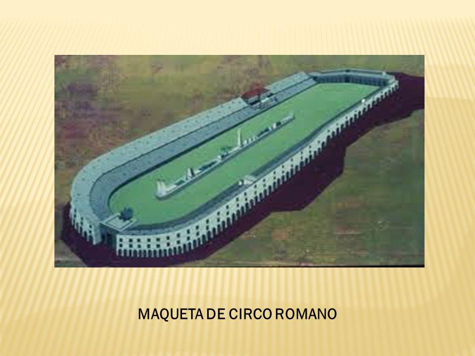 MAQUETA DE CIRCO ROMANO