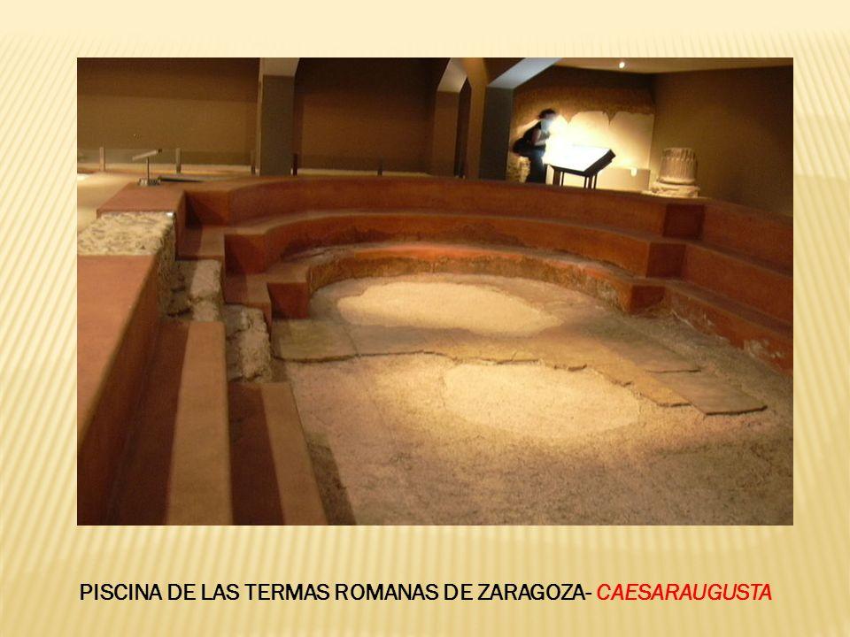 PISCINA DE LAS TERMAS ROMANAS DE ZARAGOZA- CAESARAUGUSTA