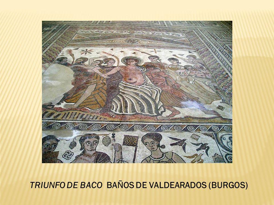TRIUNFO DE BACO BAÑOS DE VALDEARADOS (BURGOS)