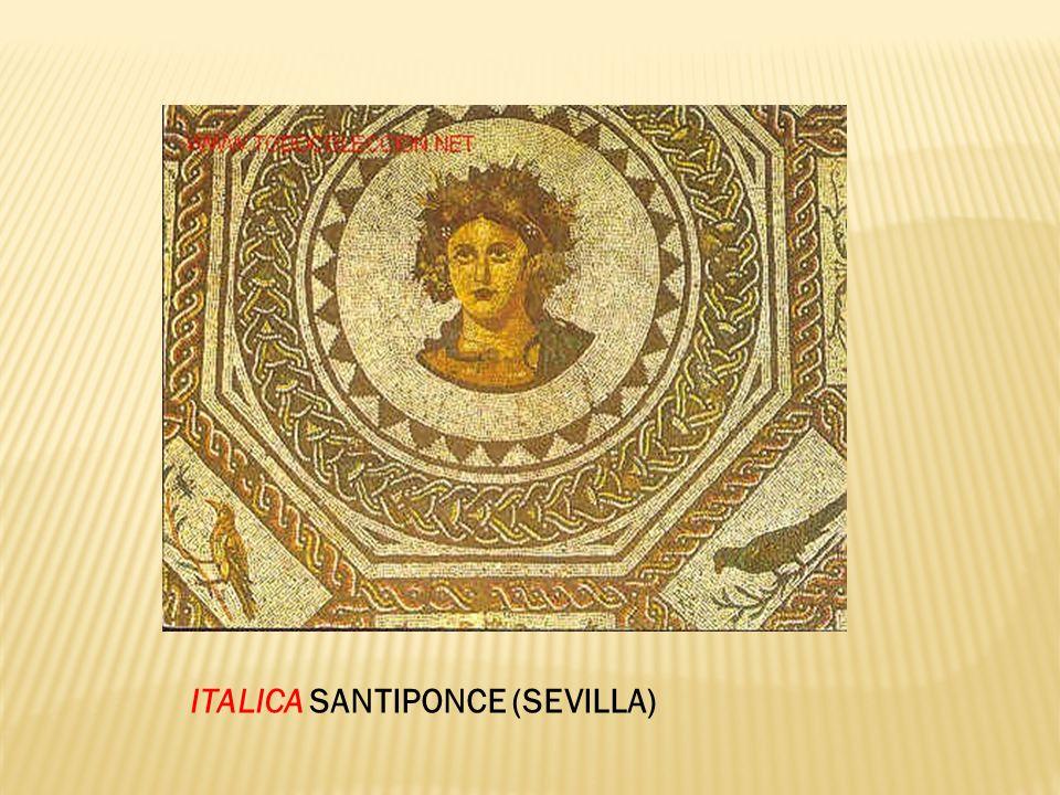ITALICA SANTIPONCE (SEVILLA)