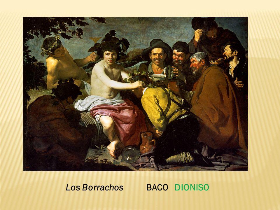 Los Borrachos BACO DIONISO